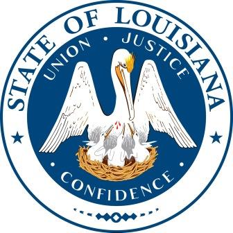 Louisiana State Seal Color