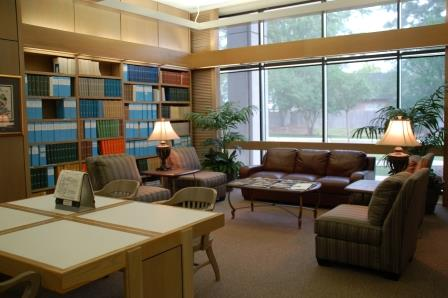 Research Library Interior