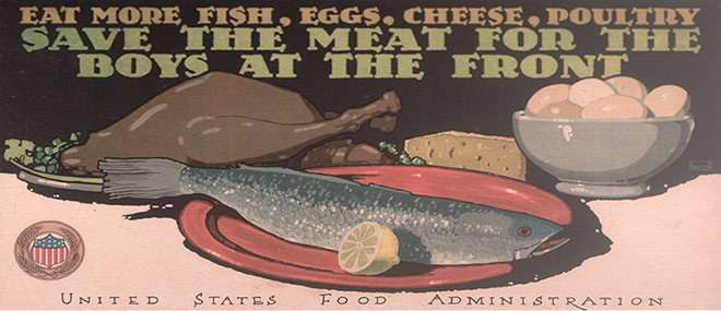The Louisiana State Archives holds one of the largest collections of World War I posters in the United States.